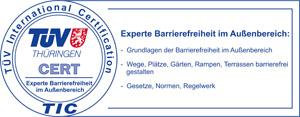 Experte für Barrierefreiheit im Außenbereich